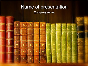 Old Books PowerPoint Template