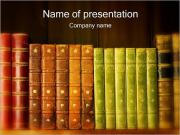 Old Books PowerPoint Templates