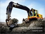 Excavator PowerPoint Templates