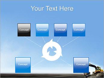 Escavadora Modelos de apresentações PowerPoint - Slide 10