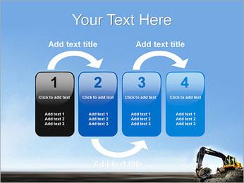 Escavadora Modelos de apresentações PowerPoint - Slide 11