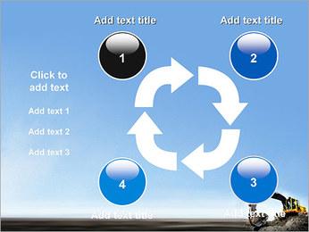 Escavadora Modelos de apresentações PowerPoint - Slide 14