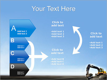 Escavadora Modelos de apresentações PowerPoint - Slide 16