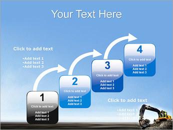 Escavadora Modelos de apresentações PowerPoint - Slide 20