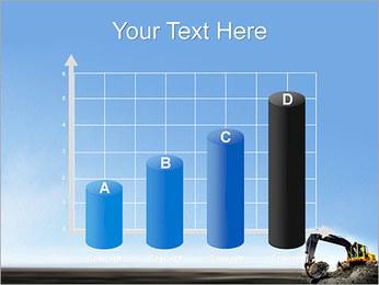 Escavadora Modelos de apresentações PowerPoint - Slide 21