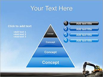 Escavadora Modelos de apresentações PowerPoint - Slide 22