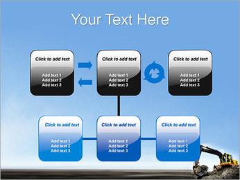 Escavadora Modelos de apresentações PowerPoint - Slide 23