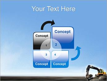 Escavadora Modelos de apresentações PowerPoint - Slide 5