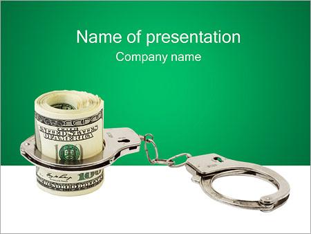 Dinero Criminal Plantillas de Presentaciones PowerPoint