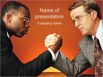Racism PowerPoint Template - Slide 1