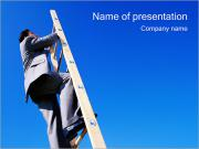 Climbing Upwards PowerPoint Templates