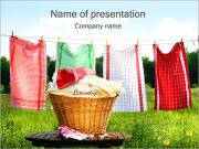 Laundry PowerPoint Templates