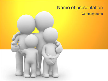 lovely family powerpoint template backgrounds google slides id