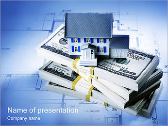 Hipoteca de la casa Plantillas de Presentaciones PowerPoint