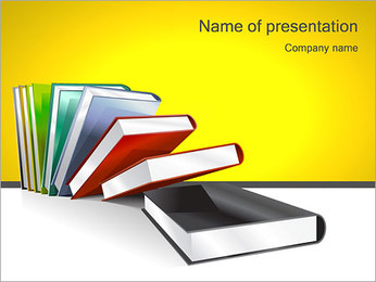 Bachelor Books PowerPoint Template