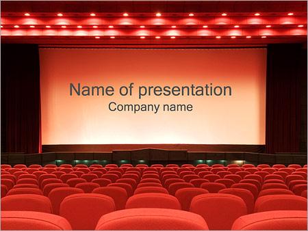 Empty Cinema PowerPoint Template