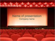 Lege Cinema Sjablonen PowerPoint presentaties