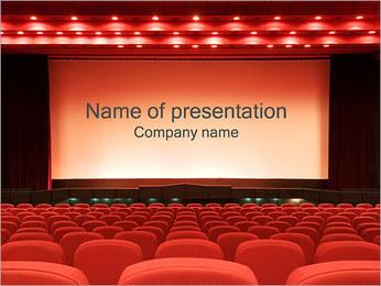 Vazio Cinema Modelos de apresentações PowerPoint