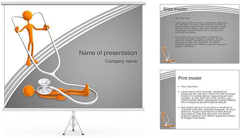 Exame médico Modelos de apresentações PowerPoint