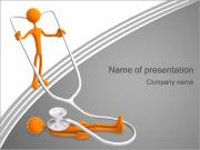 Medical Check PowerPoint presentationsmallar