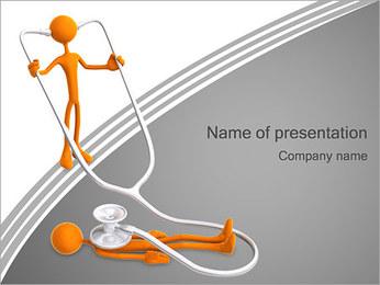 Exame médico Modelos de apresentações PowerPoint - Slide 1