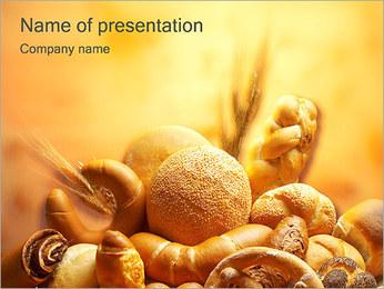 Pain Modèles des présentations  PowerPoint - Diapositives 1