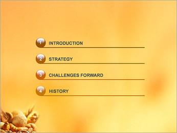 Pain Modèles des présentations  PowerPoint - Diapositives 3