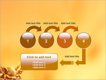 Pain Modèles des présentations  PowerPoint - Diapositives 4