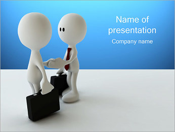 Empresários Modelos de apresentações PowerPoint