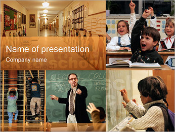 Schooling PowerPoint Template