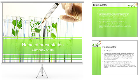 Injection into Plant PowerPoint Template