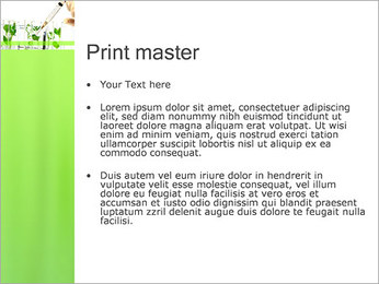 Injection into Plant PowerPoint Template - Slide 24