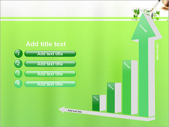 Injection into Plant PowerPoint Template - Slide 6