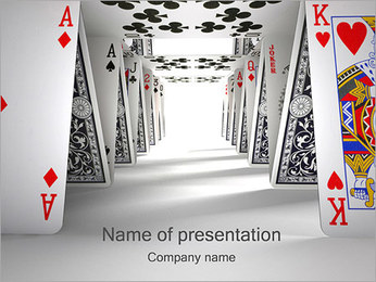 Play Cards PowerPoint Template