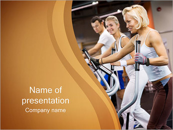 Gym PowerPoint presentationsmallar