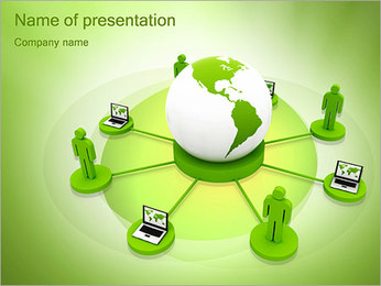 Communication Concept PowerPoint Template - Slide 1
