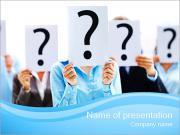 Veel vragen Sjablonen PowerPoint presentatie