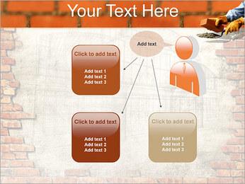 Edifício da parede de tijolo Modelos de apresentações PowerPoint - Slide 12