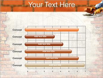 Edifício da parede de tijolo Modelos de apresentações PowerPoint - Slide 17