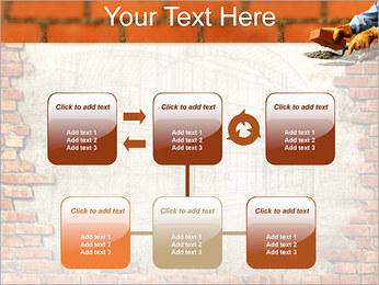 Edifício da parede de tijolo Modelos de apresentações PowerPoint - Slide 23