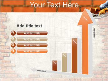 Edifício da parede de tijolo Modelos de apresentações PowerPoint - Slide 6