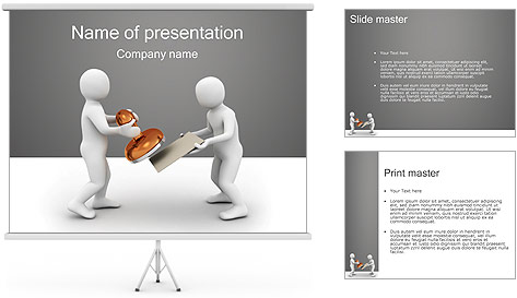 Print on Documents PowerPoint Template