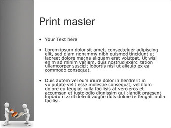 Print on Documents PowerPoint Template - Slide 24