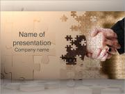 Handshake and Puzzle PowerPoint Templates