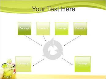 Margaritas with Lime PowerPoint Templates - Slide 10