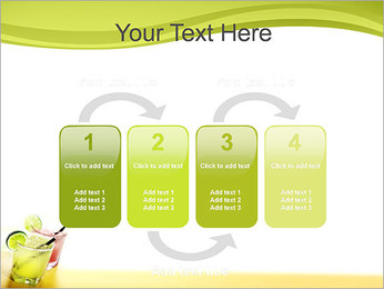 Margaritas with Lime PowerPoint Templates - Slide 11