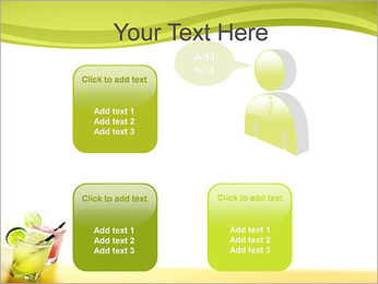 Margaritas with Lime PowerPoint Templates - Slide 12