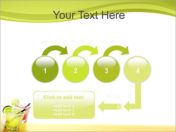 Margaritas with Lime PowerPoint Templates - Slide 4