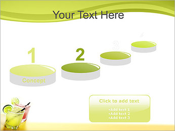 Margaritas with Lime PowerPoint Templates - Slide 7