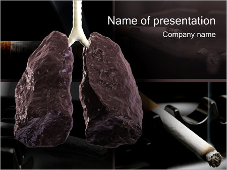 Lung cancer powerpoint template backgrounds google slides id lung cancer powerpoint template maxwellsz